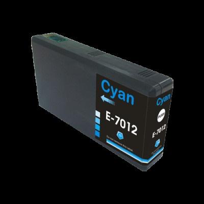 Epson T7012 azúrová (cyan) kompatibilná cartridge