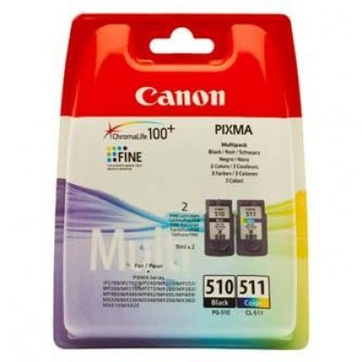 Canon PG-510 + CL-511 multipack originálna cartridge
