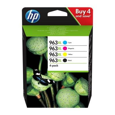 HP 963XL 3YP35AE Bk+C+M+Y multipack originálna cartridge