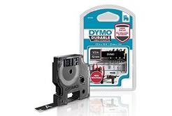 Dymo D1 1978365, 12mm x 3m, biely tlač / čierny podklad, originálna cartridge