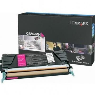 Lexmark C5242MH purpurový (magenta) originálny toner