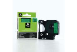 Dymo D1 45019, S0720590, 12mm x 7m čierna tlač / zelený podklad, originálna páska