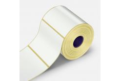Samolepiace etikety 100x130 mm, 500 ks, papierové pre TTR, role
