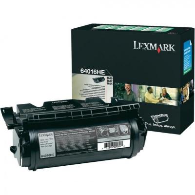 Lexmark 64016HE čierný (black) originálny toner