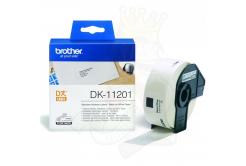 Brother DK-11201, 29mm x 90mm, originálna papierová role