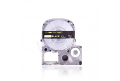 Epson LC-SC12KZ, 12mm x 8m, zlatý tisk / černý podklad, kompatibilní páska
