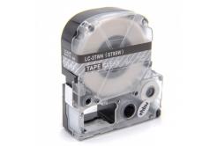 Epson LC-ST9SW, 9mm x 8m, bílý tisk / průhledný podklad, kompatibilní páska