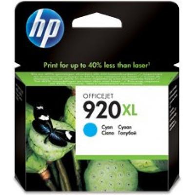 HP 920XL CD972AE azurová (cyan) originální cartridge, prošlá expirace