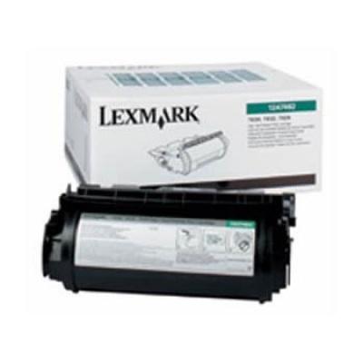 Lexmark 12A7462 čierný (black) originálny toner