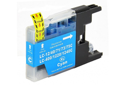 Brother LC-1240 / LC-1280 azúrová (cyan) kompatibilná cartridge