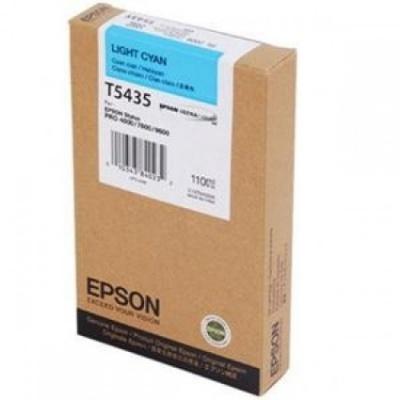 Epson T543500 svetle azúrová (light cyan) originálna cartridge