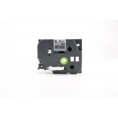 Kompatibilná páska s Brother TZ-M961 / TZe-M961, 36mm x 8m, čierna tlač / strieborny podklad