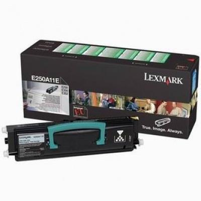 Lexmark E250A11E čierný (black) originálny toner