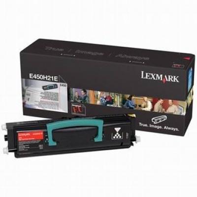 Lexmark E450H21E čierný (black) originálny toner