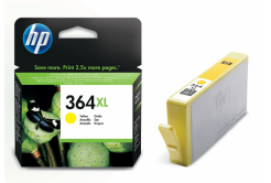 HP 364XL CB325E žltá (yellow) originálna cartridge