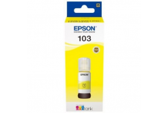 Epson originálna cartridge C13T00S44A, 103, yellow, 65ml, Epson EcoTank L3151, L3150, L3111, L3110