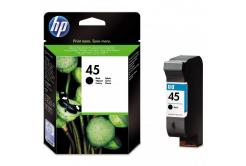 HP 45 51645AE čierna (black) originálna cartridge