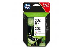 HP č.302, X4D37AE multipack originálna cartridge