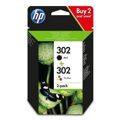 HP 302, X4D37AE multipack originálna cartridge