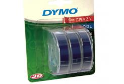 Dymo S0847740, 9mm x 3m biela tlač / modrý podklad, originálna páska