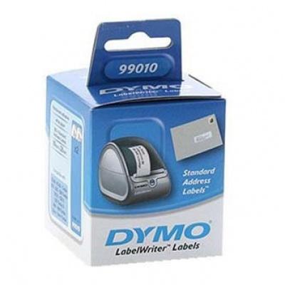 Dymo 99010, S0722370, 89mm x 28mm, bílé, adresní papírové štítky