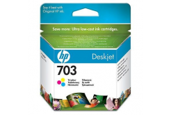 HP č.703 CD888AE farebná (color) originálna cartridge