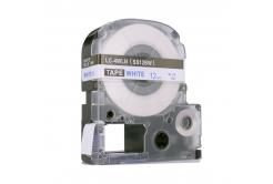 Epson LC-SS12BW, 12mm x 8m, modrý tisk / bílý podklad, kompatibilní páska