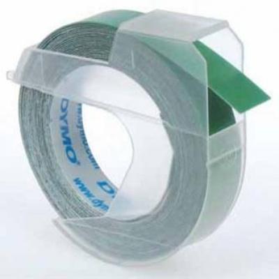 Dymo S0898160, 9mm x 3m, biela tlač/zelený podklad, originálna páska