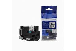 Kompatibilná páska s Brother TZ-261 / TZe-261, 36mm x 8m, čierna tlač / biely podklad