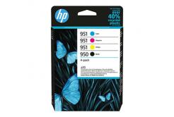 HP 950+951 6ZC65AE CMYK  sada originální cartridge