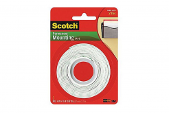 3M Scotch Montážní oboustranně lepicí pěnová páska (110), 12,7 mm x 1,9 m