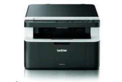 BROTHER multifunkce laserová DCP-1512E A4, A4 sken, 20ppm, 16MB, 600x600copy, GDI, USB, čierna