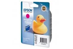 Epson T0553 purpurová (magenta) originálna cartridge
