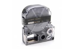 Epson LK-SC6KZ, 6mm x 9m, zlatý tisk / černý podklad, kompatibilní páska