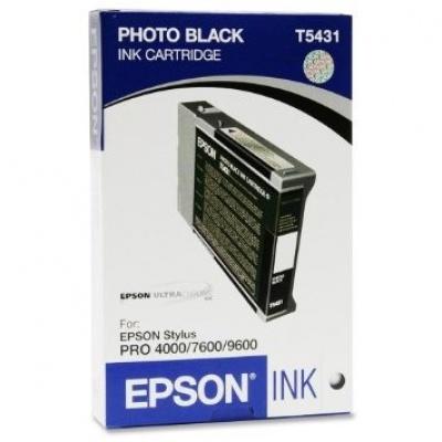 Epson C13T543100 čierna (black) originálna cartridge