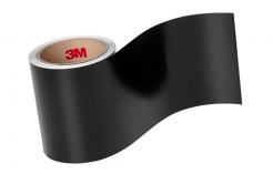 3M 7847 Štítkový materiál, matný, černý/bílý, šíře 120 mm, metráž