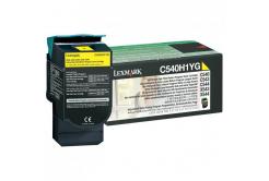 Lexmark C540H1YG, yellow, 2000 str., return, high capacity, originálny toner