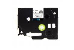 Kompatibilná páska s Brother HSe-221, 8,8mm x 1,5m, čierna tlač / biely podklad