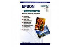 Epson Archival Matte Paper, bílá, 50, ks C13S041340, pro inkoustové tiskárny, 330x480mm (A3+),
