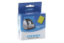 Dymo 11355, S0722550, 51mm x 19mm, bílé multifunkční papírové štítky