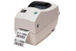 Zebra TLP2824 PLUS 282P-101121-040 TT tlačiareň etikiet, 203DPI, EPL, ZPL, RS232, USB, odlepovač (PEELER), 68MB FLASH, REAL TIME CLOCK